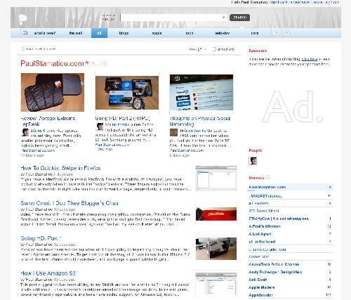 Feedly: Página de inicio para acceder a tus cuentas de Twitter, Google Reader o Facebook