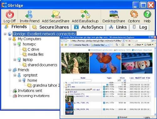 GBridge: Sincroniza y recupera archivos a través de Internet de manera fácil