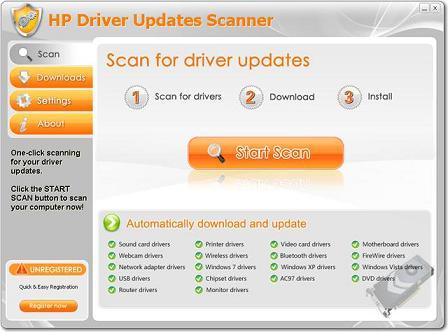 HP Driver Updates Scanner: Actualiza automáticamente los drivers de tu portátil o netbook HP