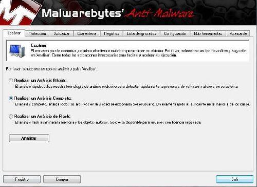 Malwarebytes Anti-Malware Rules: Actualiza la última versión de Malwarebytes
