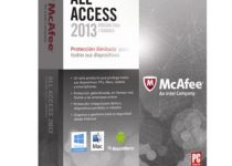 McAfee All Access última versión 2013