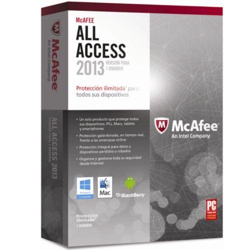 McAfee All Access última versión 2013