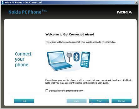 Nokia PC Phone: Controla tu teléfono móvil Nokia desde tu navegador