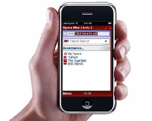 Opera Mini: Un pequeño gran navegador móvil en tu BlackBerry