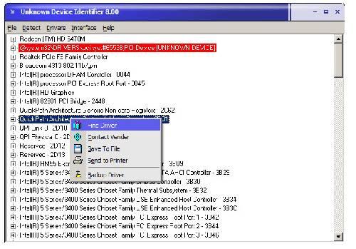 Unknown Device Identifier: Identifica los dispositivos no reconocidos por Windows