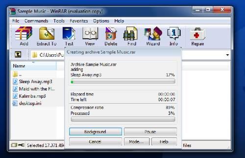 WinRAR Beta última versión bajar gratis