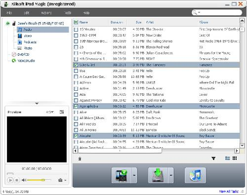 Xilisoft iPod Magic: Tres en uno para gestionar tu iPod y iPhone