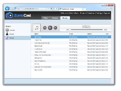 ZumoCast: Utiliza tu ordenador como servidor de música y vídeo