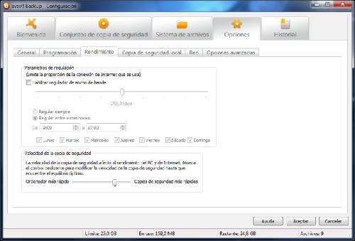 avast! Backup: Guarda tus archivos en la base de datos de avast!