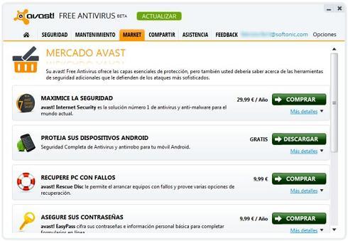 avast! Free Antivirus 8 Beta 3: Descarga la última versión