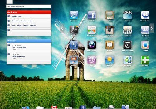 iPadian: Prueba la interfaz de iPad para Windows 7