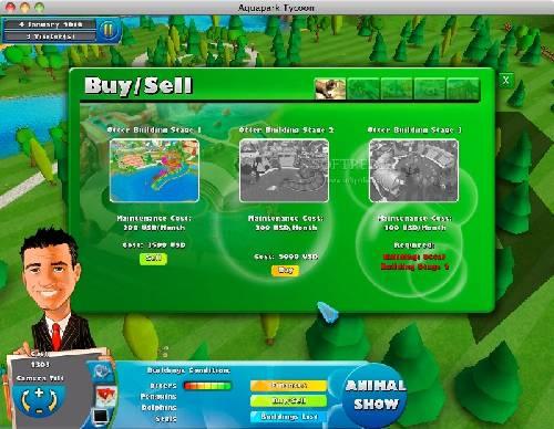 Aqua Park Tycoon: Diviérte te creando parques acuático