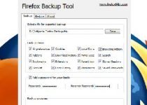 Firefox Backup Tool: Haz copia de seguridad de tu perfil de Firefox