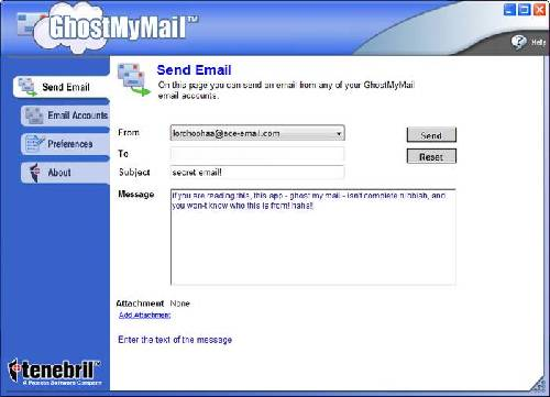 GhostMyMail: Oculta tu correo a remitentes que no deseas