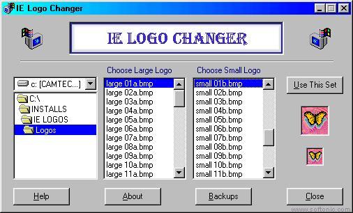 IE Logo Changer: Cambia el logo de Internet Explorer