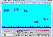MathRapid: Mide tu inteligencia con este juego de aritmética mental