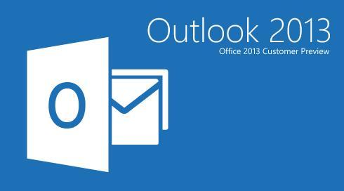 Microsoft Outlook 2013 última versión al mes de julio 13