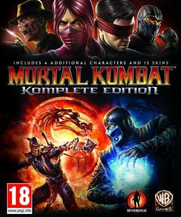 Mortal Kombat Komplete Edition solo para ti