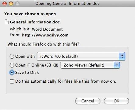 Open IT Online: Abre documentos online desde Internet Explorer