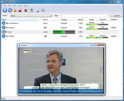 Torrent Stream: Mira transmisiones en vivo en alta definición
