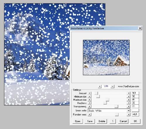 VanDerLee Snowscape: Dale un toque de nieve a tus fotos