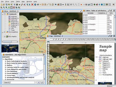 gvSIG: Analizar y gestiona datos geográficos con este Sistema de información