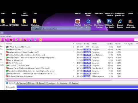 uTorrent Acceleration Tool: Acelerar la velocidad de tus descargas en uTorrent