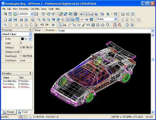 AutoCAD Drawing Viewer: Abre y edita archivos de AutoCAD sin tener el instalador