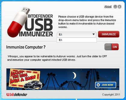 BitDefender USB Immunizer: TU USB limpia de antivirus como nunca antes