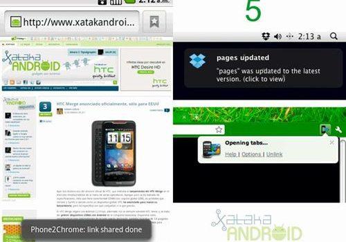 Chrome to Phone: De tu navegador Chrome a tu teléfono en un instante
