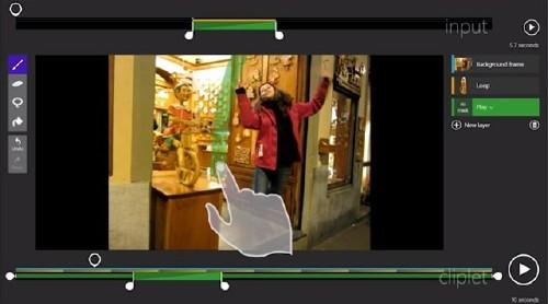 Cliplets: Crear imágenes GIF en un dos por tres
