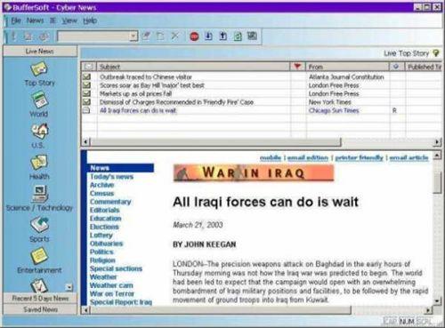 Cyber News: Recibe en tu PC las últimas noticias de todo el mundo