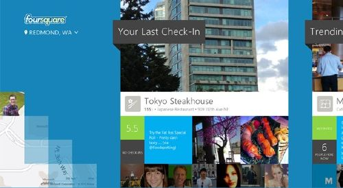 Foursquare para Windows 8: Descrubre una red social para descubrir tu ciudad