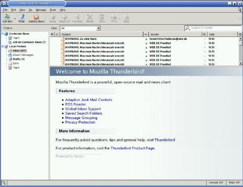 Mozilla Thunderbird: El cliente de correo de los creadores de Firefox actualizado