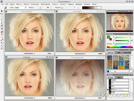 Oriens Enhancer: Editor gráfico completo con gran variedad de efectos