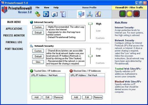 Privatefirewall: Prueba la eficacia y sencillez en la vigilancia de tu seguridad online