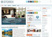 Storex tema para worpress magazine