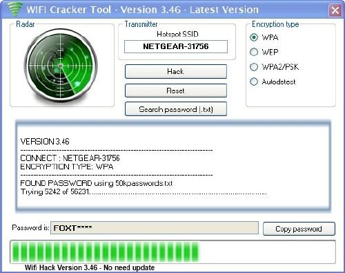 WiFi password revealer: Recuperador de clave WiFi en caso de pérdida
