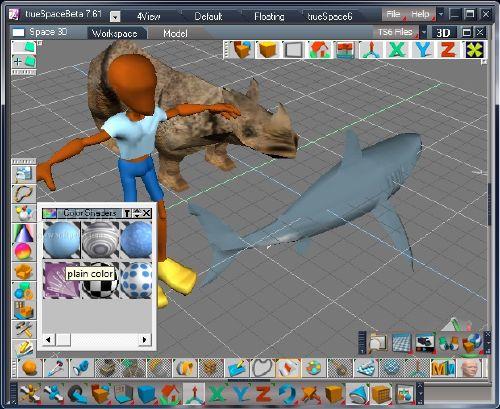 trueSpace: Un clásico del diseño 3D gratis para ti
