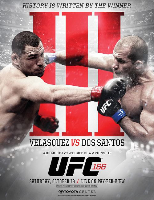 Digital TV 2050: Mira EN VIVO el evento UFC 166 Velasquez vs Dos Santos 3