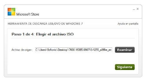 Graba tu ISO de Windows 7 en un DVD o USB