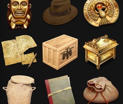 Indiana Jones and the Raiders of the Lost Ark iconos gratis