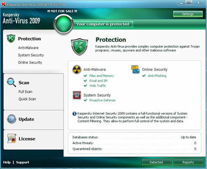 Kaspersky Anti-Virus: Bajar la última versión de este antivirus al 06/09/2013