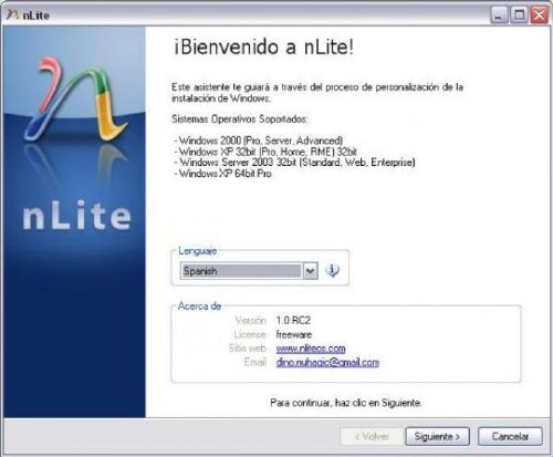 nLite: Personaliza la instalación de Windows como te plazca