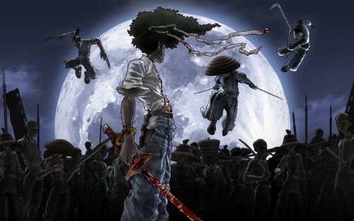 Afro_Samurai wallpaper
