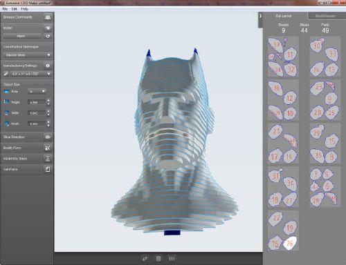 Autodesk 123D Make Diseños en 3D muy fácil de usar