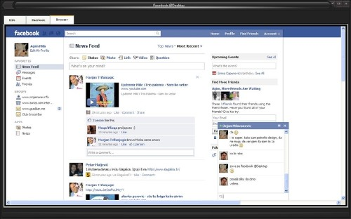 Facebook@Desktop: Entra Facebook aunque este restringido