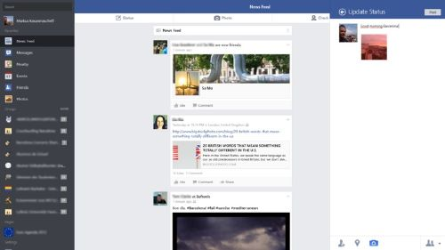 Facebook para Windows 8.1: La app oficial de Facebook para Windows 8.1