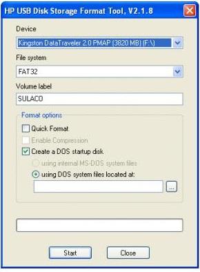 Formatea discos duros y memorias USB con esta herramienta buenaza