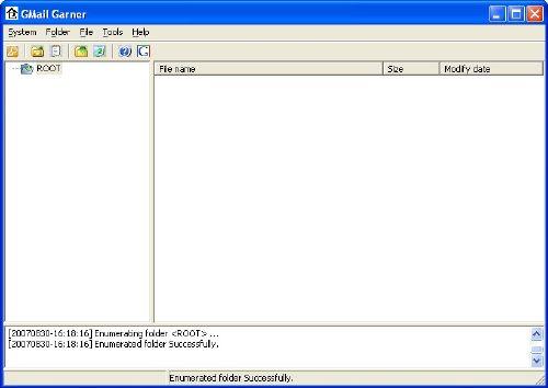 GMailGarner: Usa los cinco gigabytes de Gmail como un disco duro